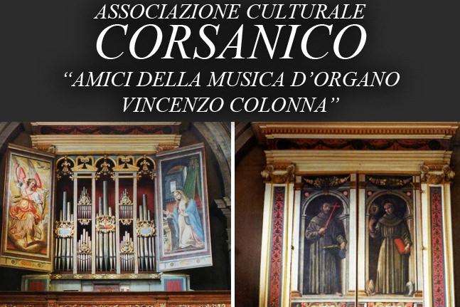 """Associazione Amici della Musica d'Organo """"Vincenzo Colonna"""""""