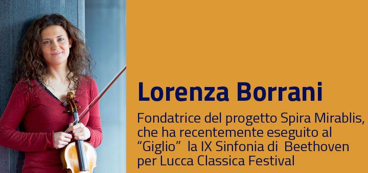 A colloquio con… Lorenza Borrani