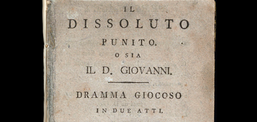 Don Giovanni il seduttore
