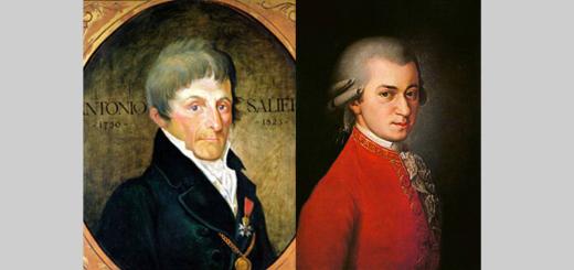 Salieri e Mozart