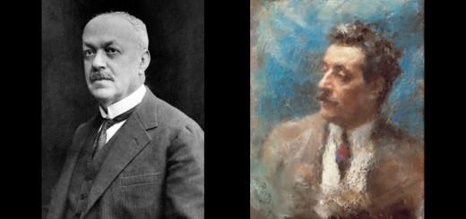 Italo Svevo e Ritratto di Giacomo Puccini (Arturo Rietti)