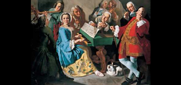 Musicisti nel 1700