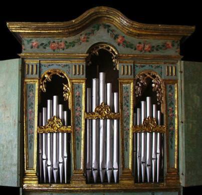Organo chiesa di Casabasciana (Bagni di Lucca)