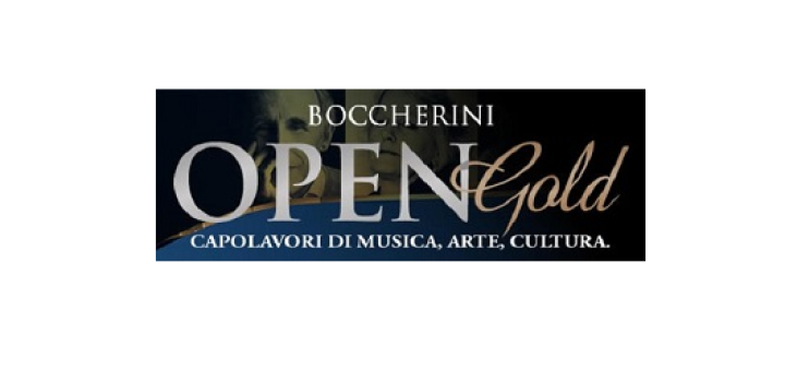 14) BOCCHERINI OPEN GOLD LOGO