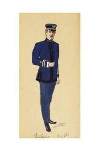 Costume Sketch di Pinkerton