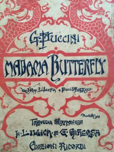 Libretto di Madama Butterfly