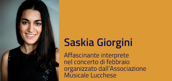 A colloquio con… Saskia Giorgini