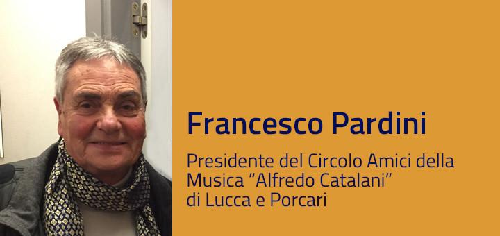 Francesco Pardini intervista