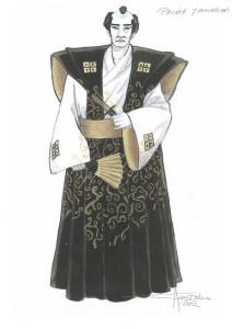 costume del Principe Yamadori