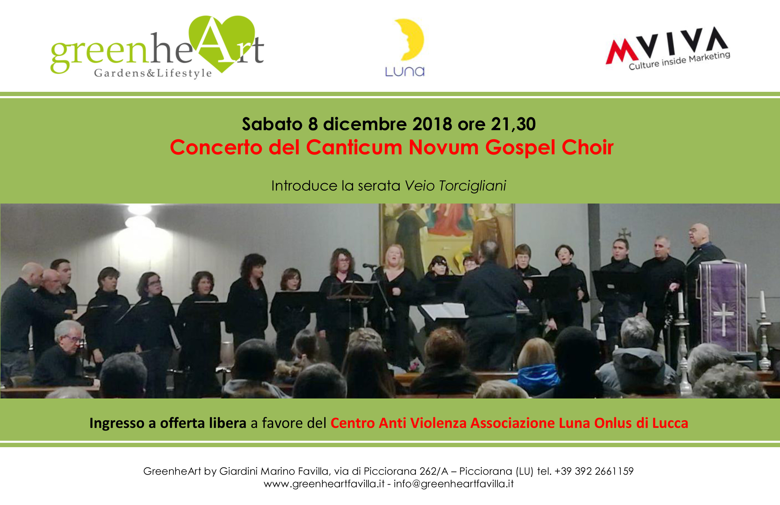 invito Canticum Novum Gospel Choir