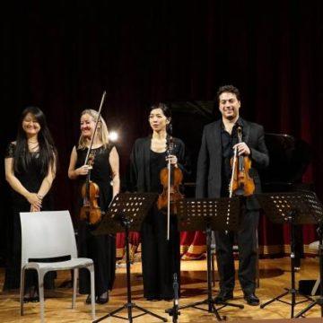 Pieranunzi, Jin Ju e la Philharmonia Chamber Players