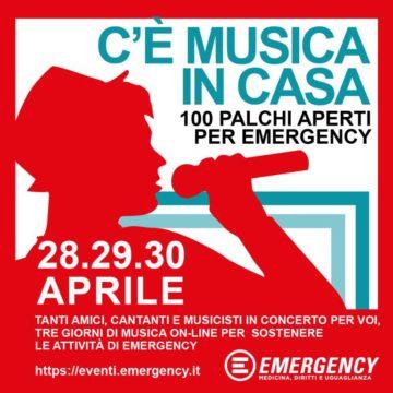 TRE GIORNI DI MUSICA PER EMERGENCY
